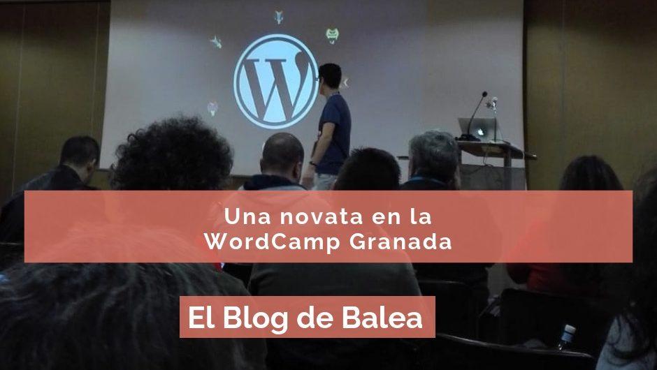 una novata en la wordcamp en granada
